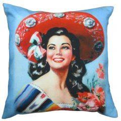 Mexican Girl Cushion