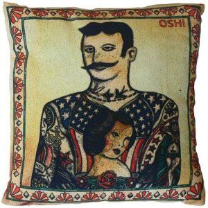 Tattoo Man cushion