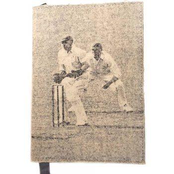 Canvas cricket journal