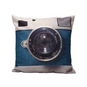 Vintage Camera Cushion