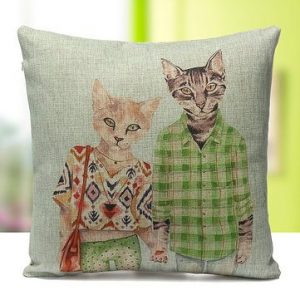 Cute Cats Cushion