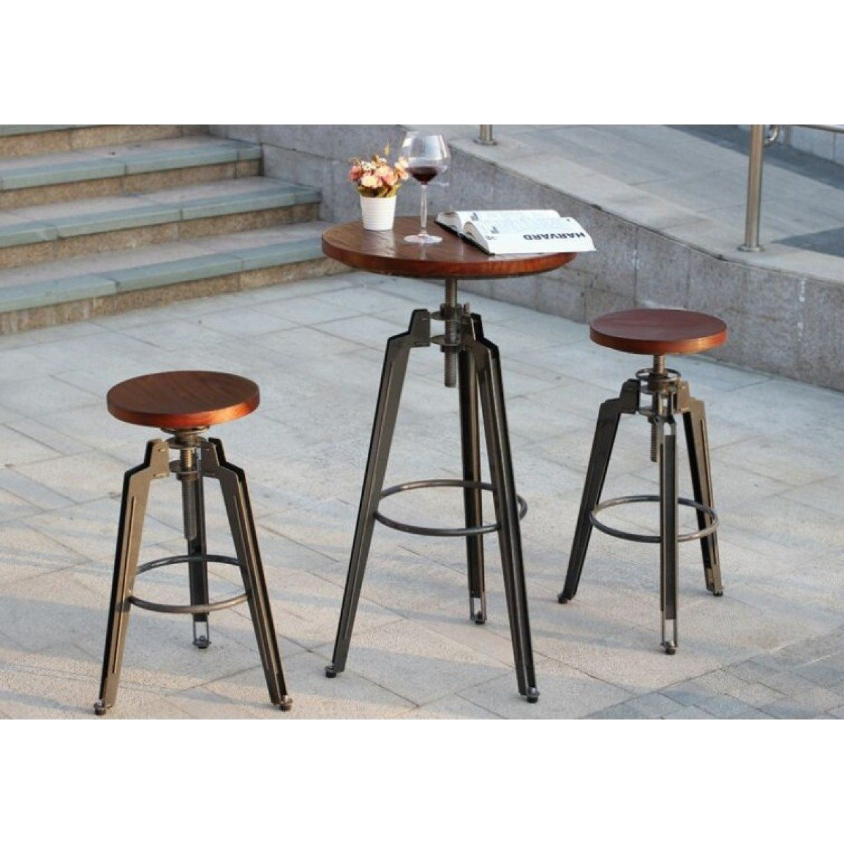 Picture of: Cafe Table And Stools Available Online Or In Store From Bimbo Adelaide