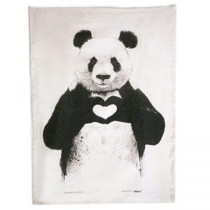 Panda Bear Tea Towel