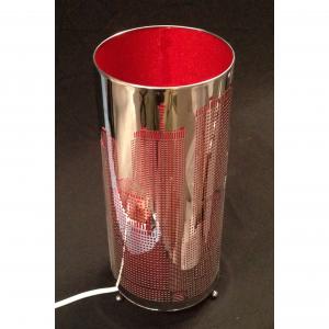 laser cut cylinder lamp