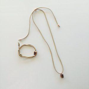 suede necklace