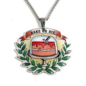 bake or die necklace